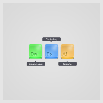 Adobe icons by theKrisztian