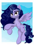 Curly pony OC for YCH