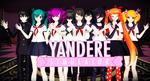 {MMD} Yandere simulator ^^
