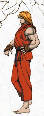 Ken Masters AM Colored