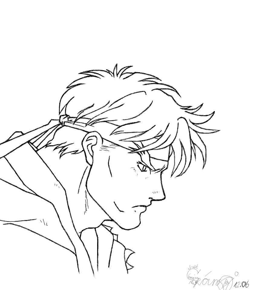Ryu animated movie adult by shindoh on deviantart for Ryu coloring pages