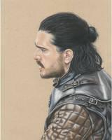 Jon Snow - Game of Thrones by Georginasart