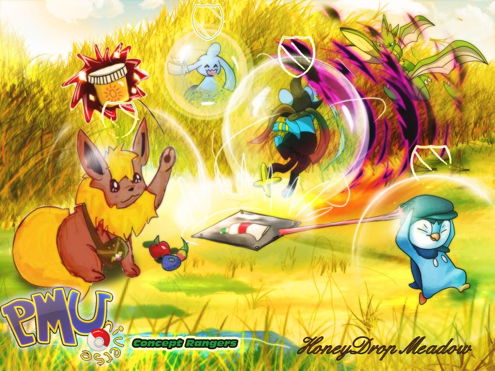 Concept Rangers: Honeydrop Meadow by Erladino