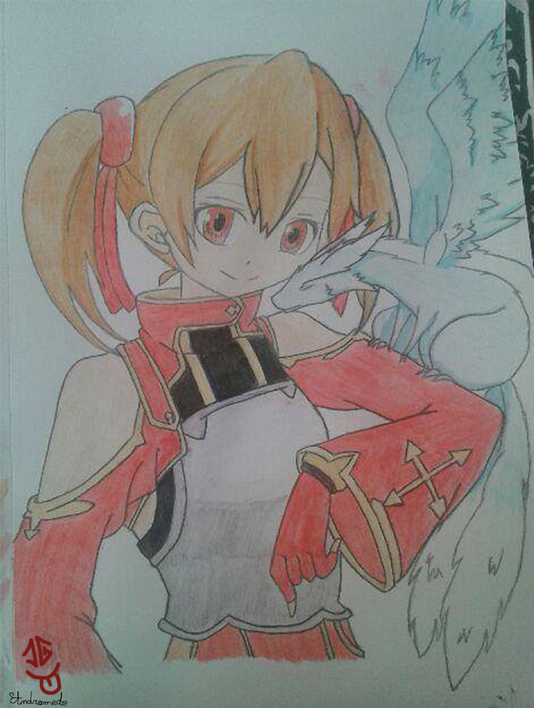 Silica - Sword art Online by Andromede29