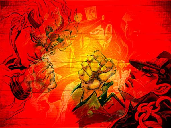 Jojo Vs Dio Wallpaper By Gojiro Kiryu On Deviantart