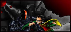 Robin VS Slade - Colored