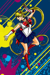 Sailor Moon by Fanglicious
