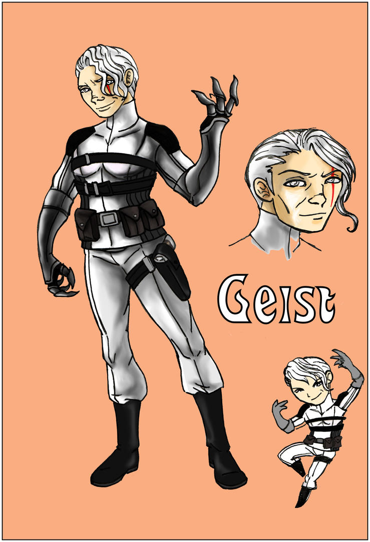 Geist sheet by Fanglicious