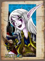 WOW Character Card NETZACH by Fanglicious