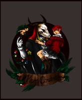 Ancient Magus Christmas by Fanglicious