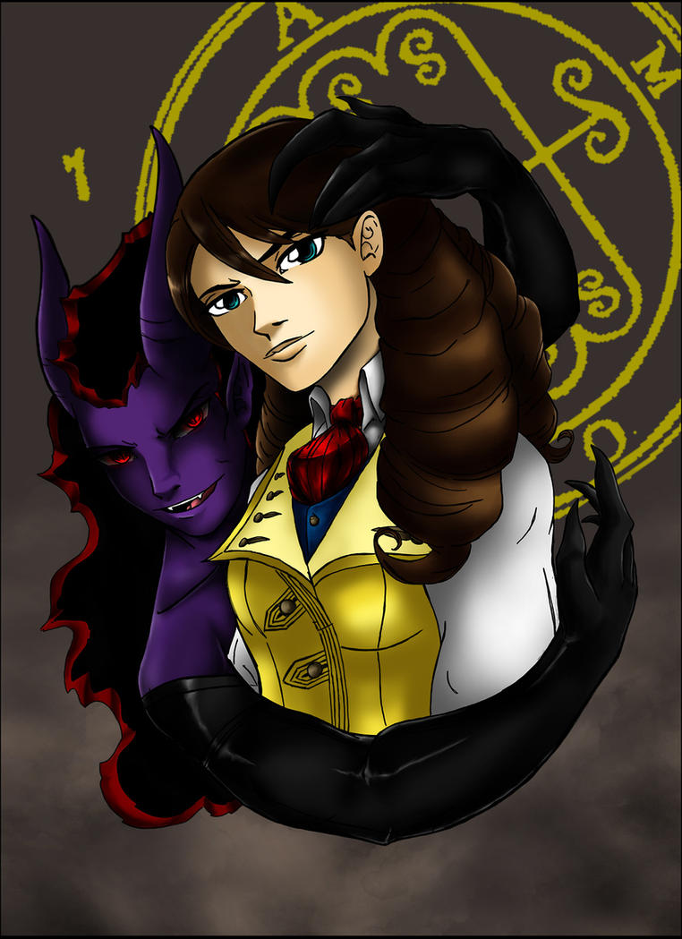 Aamon and his Emeline by Fanglicious