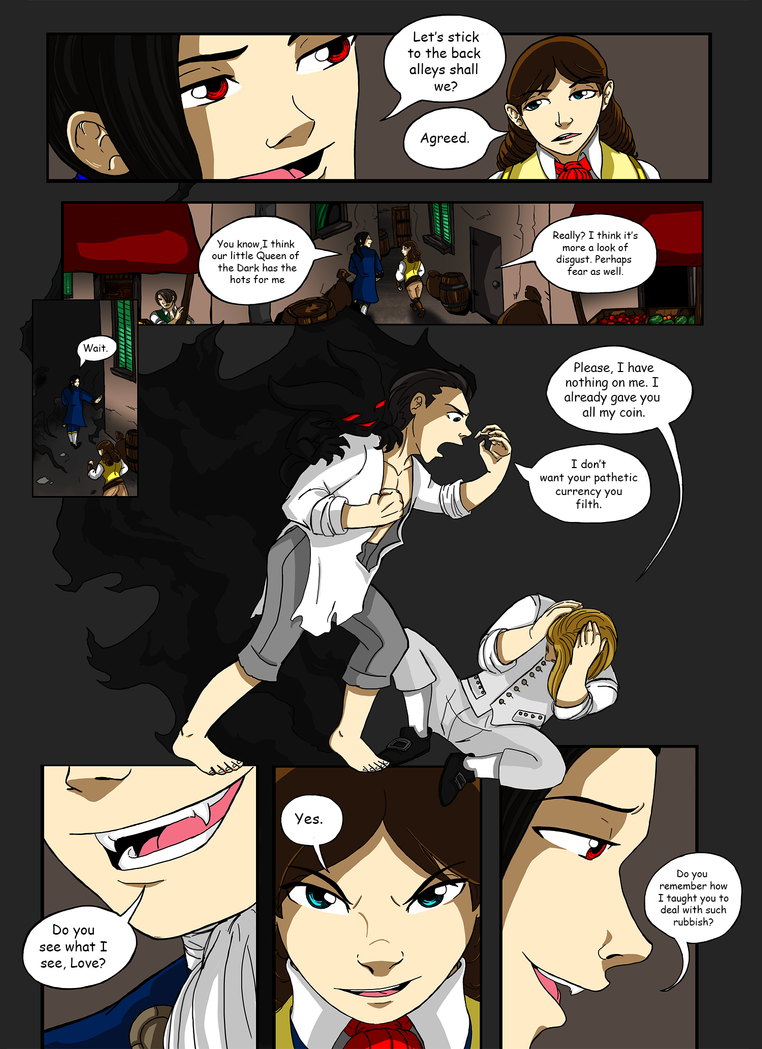 Demons of Paris - Page Nine by Fanglicious