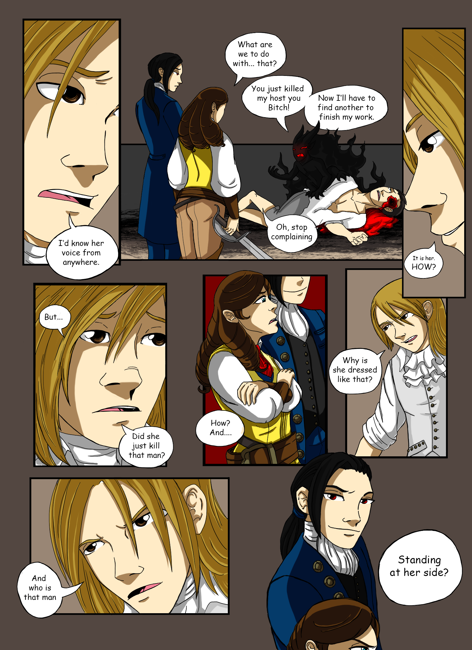 Demons of Paris - Page Fourteen by Fanglicious