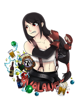 Tifa by Fanglicious