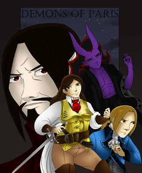 Demons of Paris Cover - Chapter Two