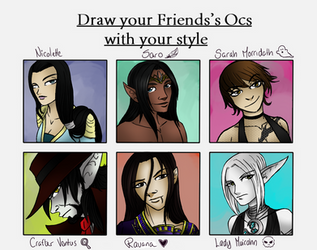 Drawing other peoples OCs