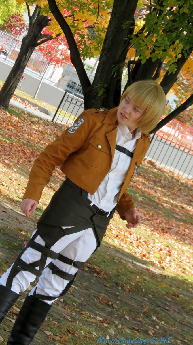Shingeki no kyojin Armin by MarmaladeSkysGirl45
