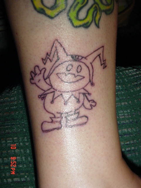 Jack Frost tattoo by queenofcats81