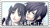 Saito x chizuru stamp by BloodSttar