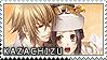 Chikage x Chizuru Stamp by BloodSttar