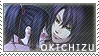 Okita x Chizuru stamp 2 by BloodSttar