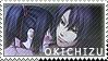 Okita x Chizuru stamp 2 by BloodSttar
