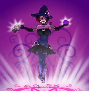Necromancer Witch Kurai