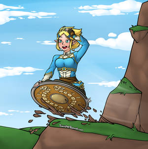 Shield Surfing Zelda