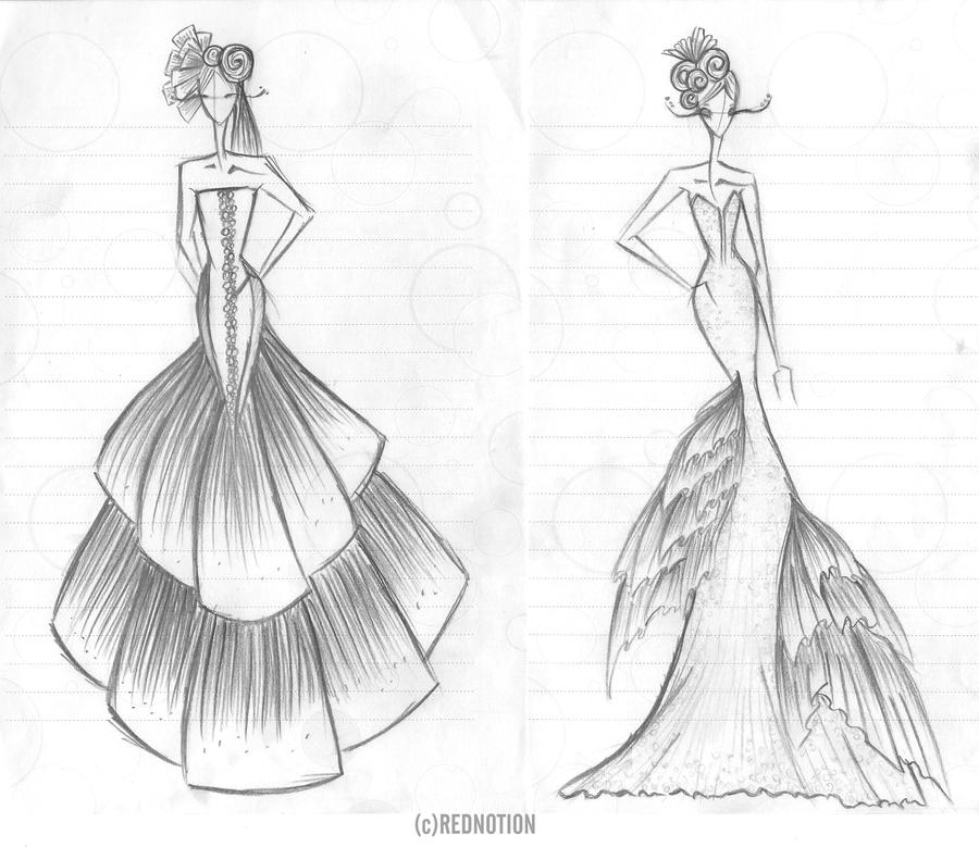 easy fashion design sketches - photo #38