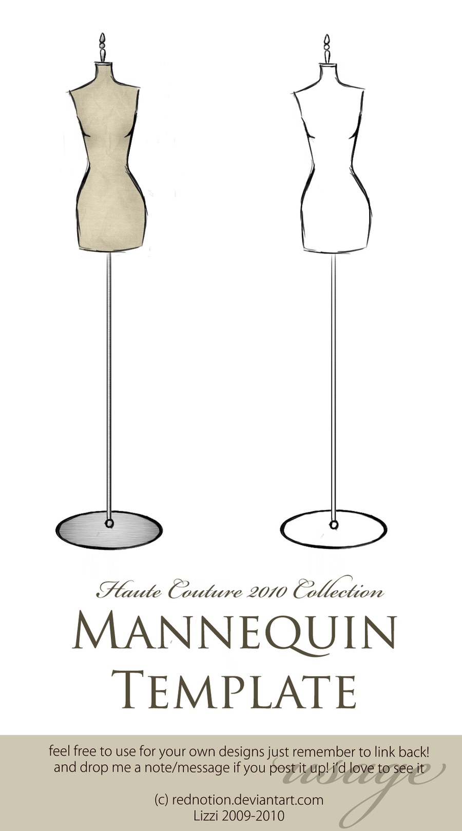 Dress Mannequin Template images