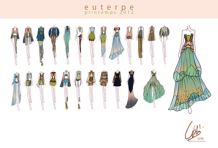 Euterpe Spring 2012 - Complete by rednotion