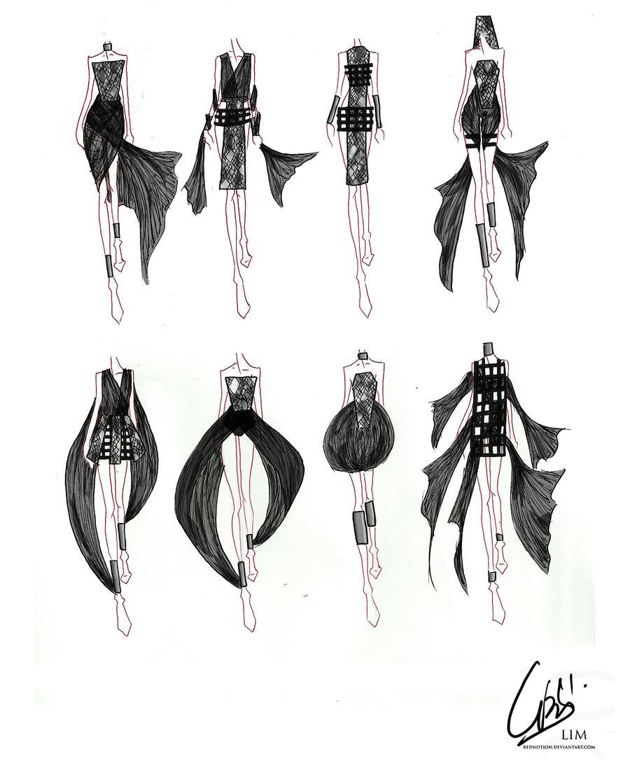 ... designs int... Fashion Designs Sketches