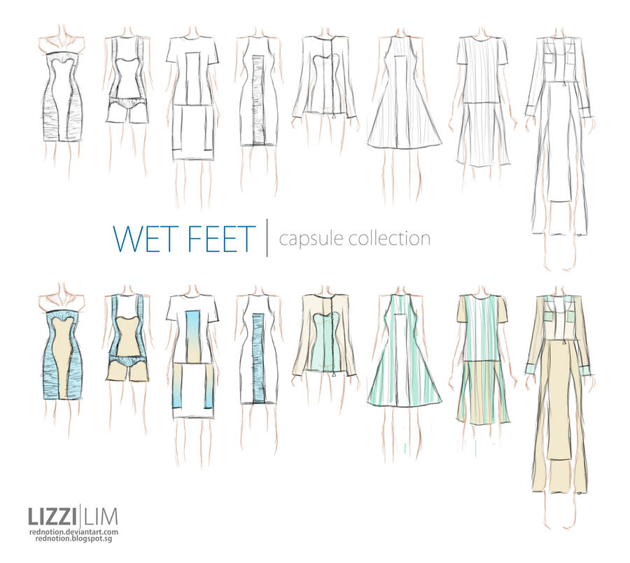 WET FEET || Capsule Collection 2012 by rednotion