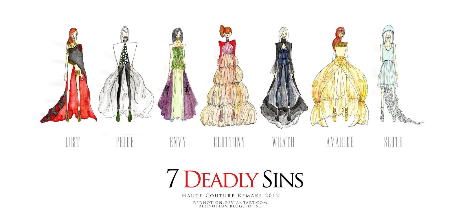 7 Deadly Sins Remake 2012 by rednotion