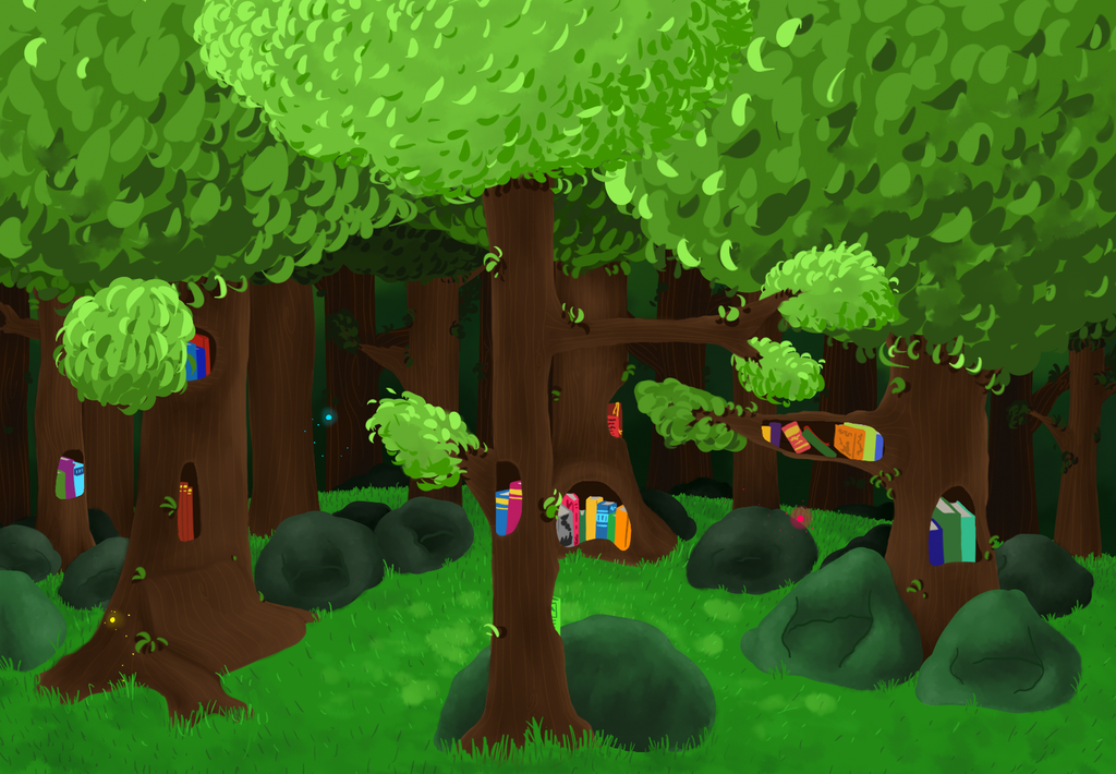 BDotheque forest by Sawyer-Nono
