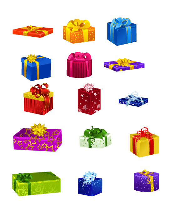 Gift boxes by Zzanthia