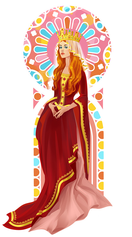 Medieval costume by Zzanthia