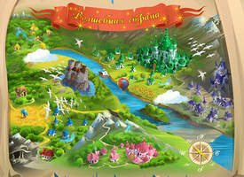 Magic land map