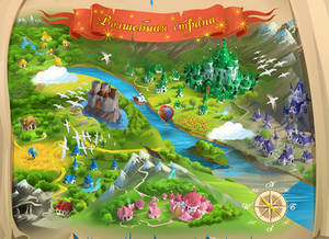 Magic land map