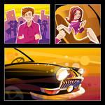 Illustration for cd booklet