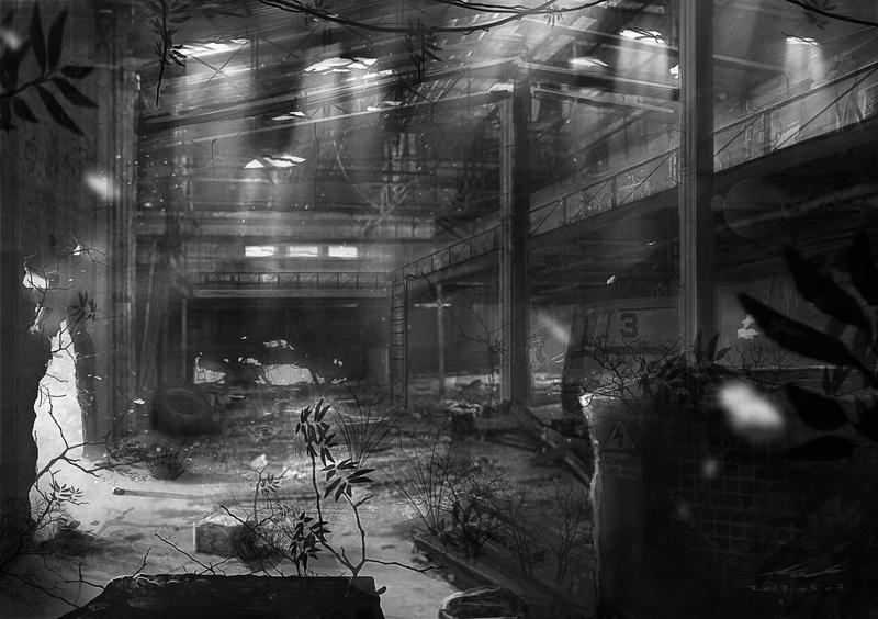 Abandoned Factory Concept 2