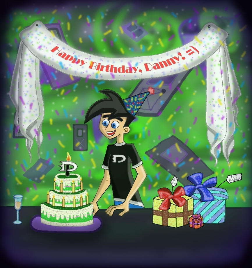 Danny Phantom Birthday Cakes
