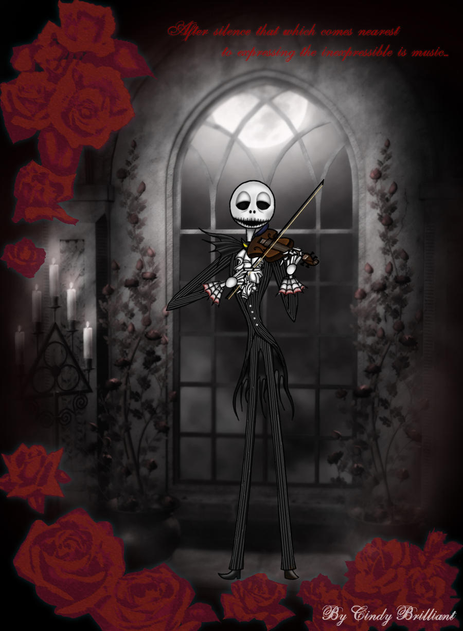 Jack with the violin... by Cindy-Brilliant