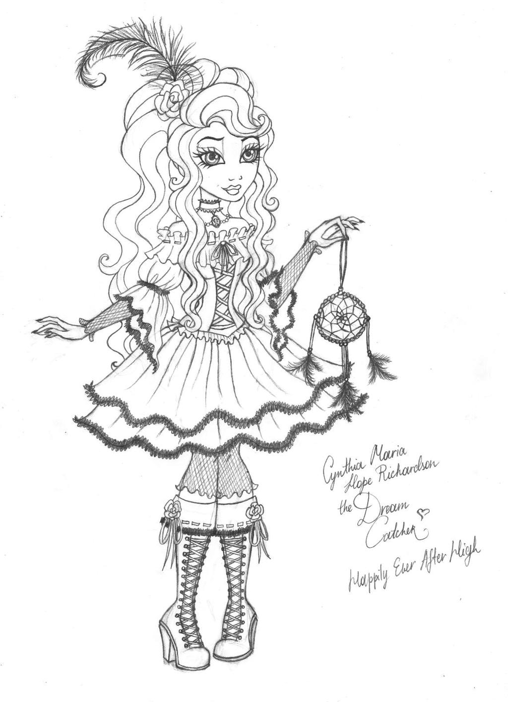 cynthia coloring pages - photo#40