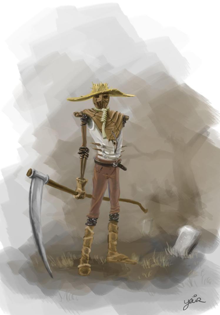 Zombie Scarecrow by YairMor