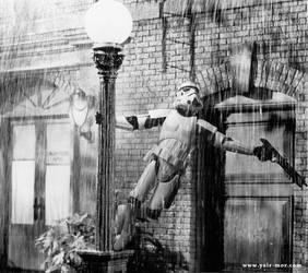 Stormtrooper in the Rain by YairMor