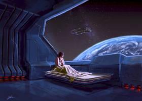 Alone in Space by YairMor