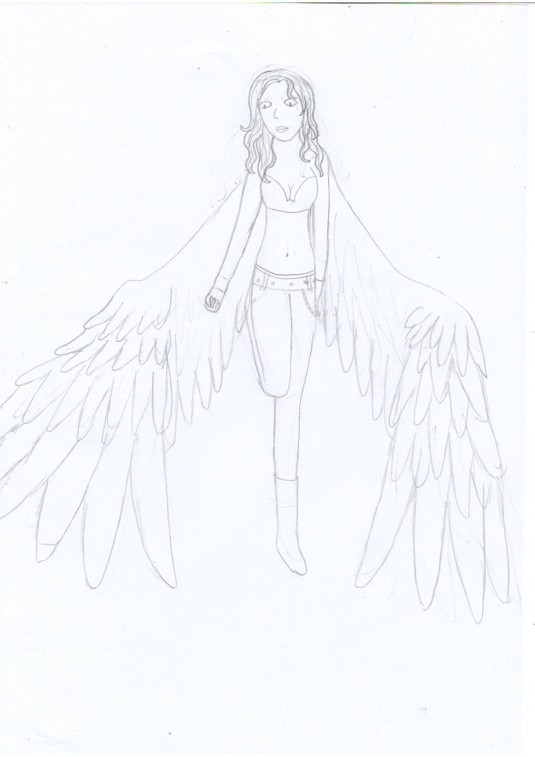 Nevaeh - Dark Angel unfinished by skyemonsta