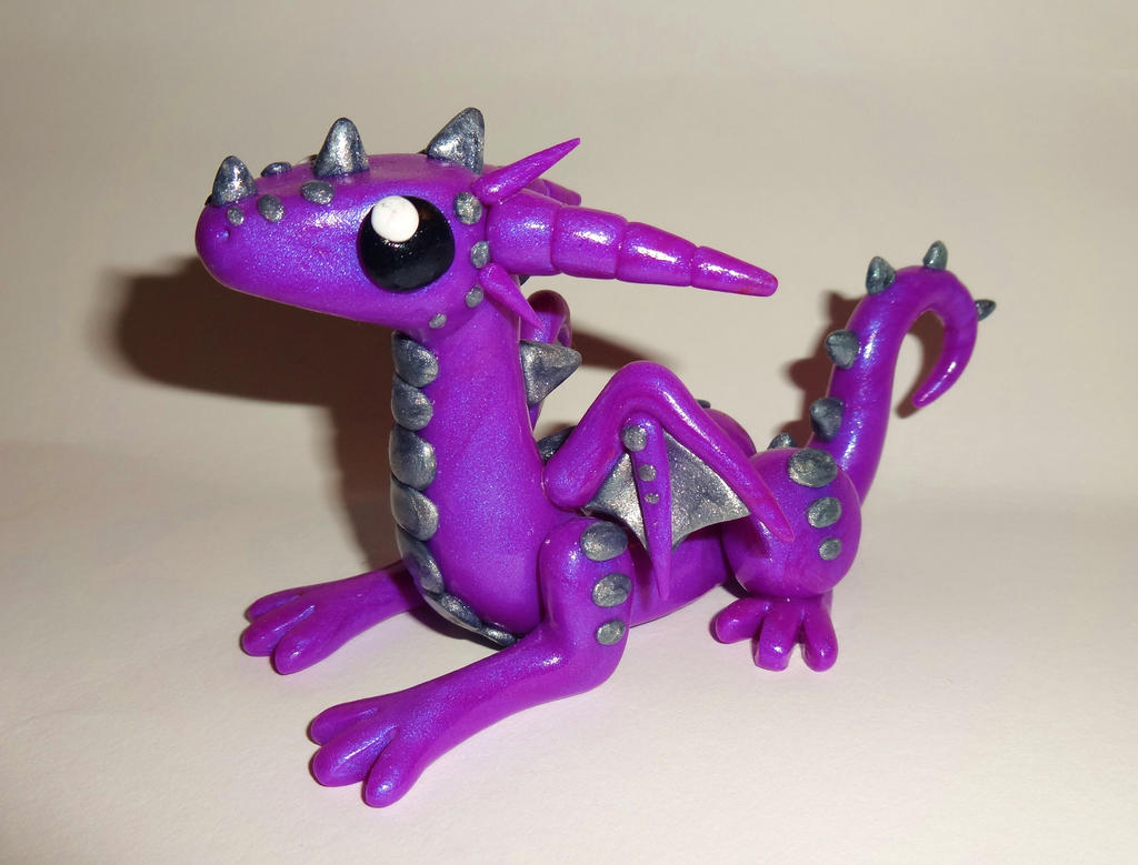 cute purple dragon by bytoothandclaw on deviantart