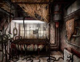 Twin Soul Video Game - Bathtub Scene by triatholisk